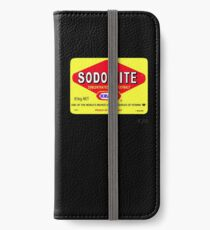 SODOMITE Clothing, Cards, Device Cases, Tote Bags & Home Decor iPhone Wallet/Case/Skin