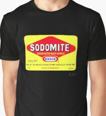SODOMITE Clothing, Cards, Device Cases, Tote Bags & Home Decor Graphic T-Shirt