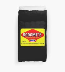 SODOMITE Clothing, Cards, Device Cases, Tote Bags & Home Decor Duvet Cover