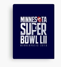 Super Bowl LII Canvas Print
