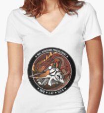NROL-47 Program Logo Women's Fitted V-Neck T-Shirt