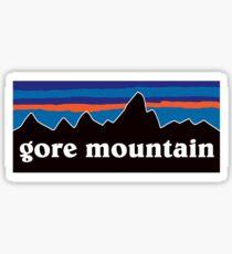 gore mountain skiing patagonia Sticker