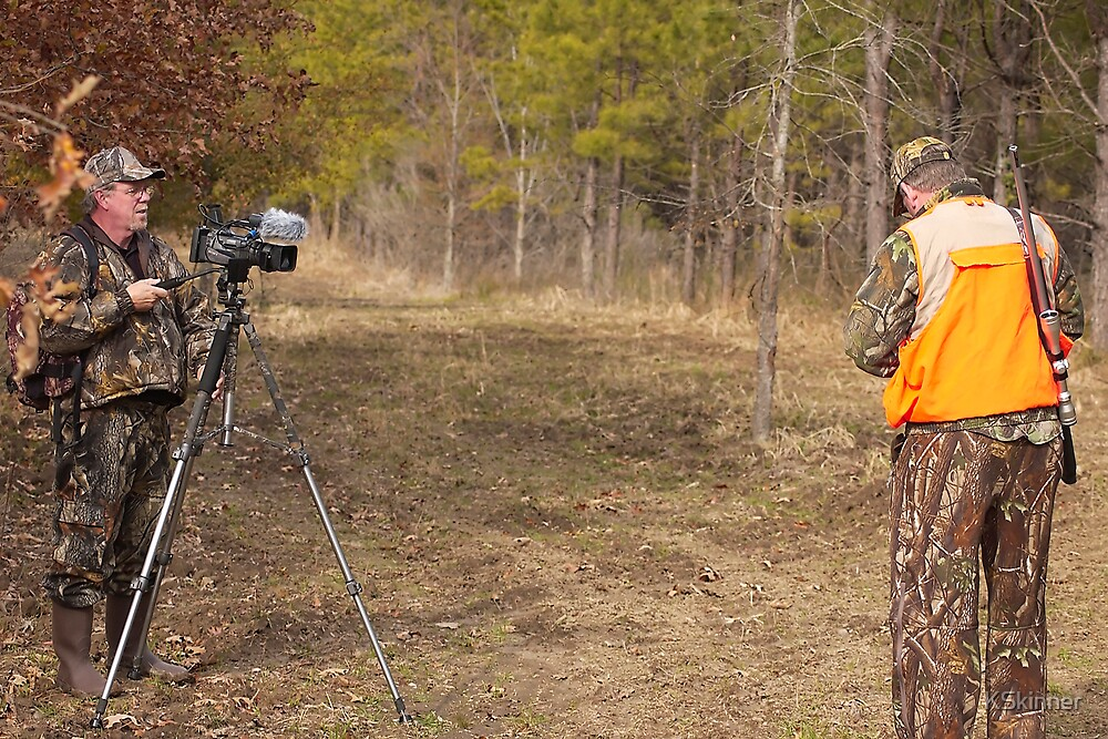 Filming Deer Hunt by KSkinner