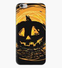 Halloween pumkin iPhone Case