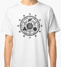 Gate of Time - Black Classic T-Shirt