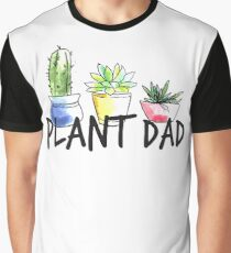 Plant Dad Graphic T-Shirt