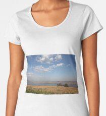 Panorama in the Galilee Women's Premium T-Shirt