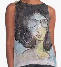 Dope Girl Art Contrast Tank