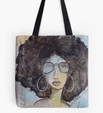 Dope Girl Art Tote Bag