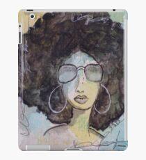 Schmiere-Mädchen-Kunst iPad-Hülle & Klebefolie