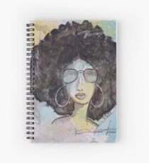 Dope Girl Art Spiral Notebook