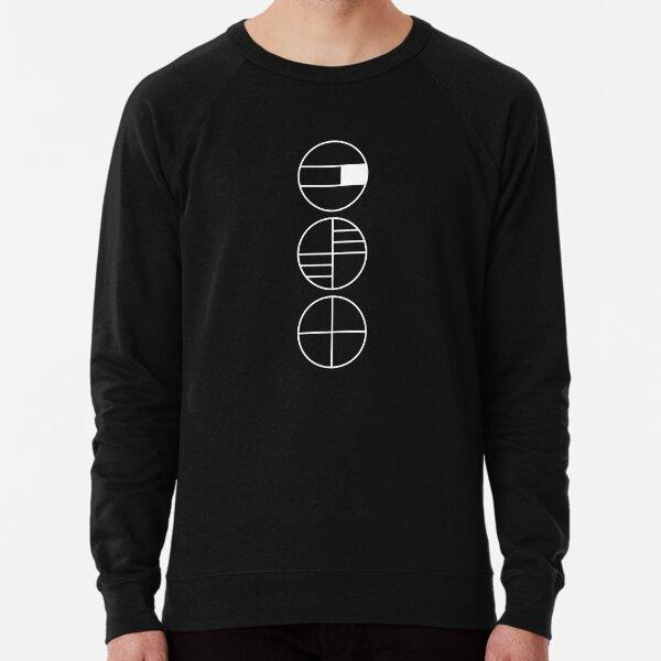 BAUHAUS ALPHABET SYMBOLS Lightweight Sweatshirt