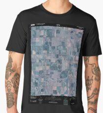 USGS TOPO Map Kansas KS Ness City NE 20091215 TM Inverted Men's Premium T-Shirt