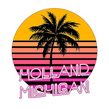 Holland Michigan Beach Design, Shirt and More by tshirtbrewery