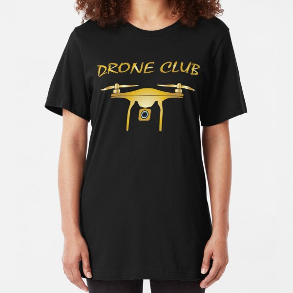 Drone Pilot USA Flag Adult Womens Long Sleeve Tshirts