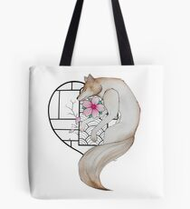 The wolf in love Tote Bag