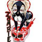 Sexy Cocktail Manga Girl Zombie von Otomo-san