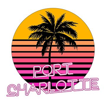 Port Charlotte Florida Beach Design by tshirtbrewery