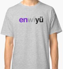 Camiseta clásica Fonética de Nueva York (NYU)