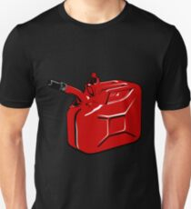 Gas Can - Red Unisex T-Shirt