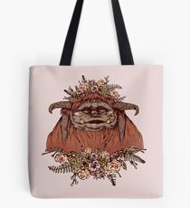 Flower Crown Ludo Tote Bag