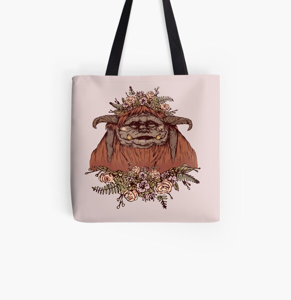 Flower Crown Ludo All Over Print Tote Bag
