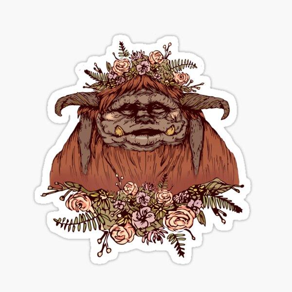 Flower Crown Ludo Sticker