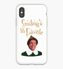 Buddy The Elf - Smiling's My Favorite iPhone Case