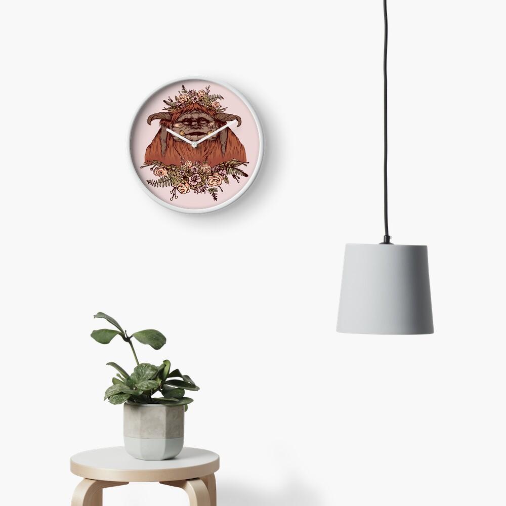 Flower Crown Ludo Clock