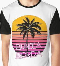 Punta Gorda, Fat Point, Florida, Beach Graphic T-Shirt