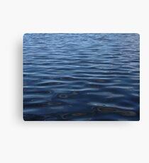 water sea lake ripples Canvas Print