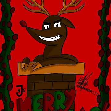 Merry Christmas from Rudolph by Cooper31