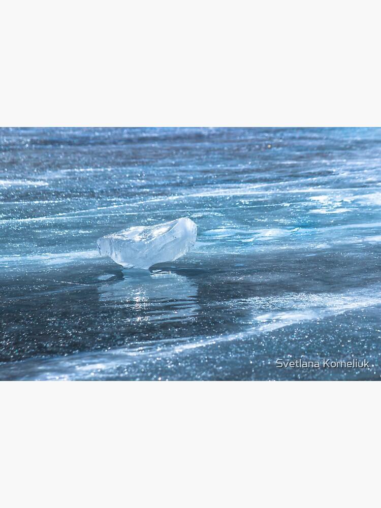Ice diamond of Baikal by SvetlanaKorneli