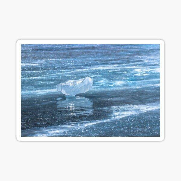 Ice diamond of Baikal Sticker