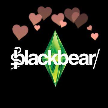 Blackbear Logo Sim Hearts by emathechickenlo