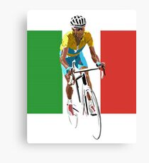 Maillot Jaune, Italy Flag 2 Canvas Print
