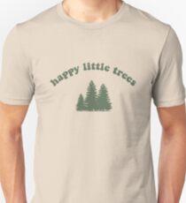 Bob Ross Happy Little Trees Unisex T-Shirt