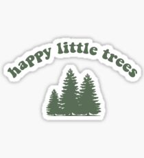Bob Ross Happy Little Trees Sticker