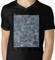 USGS TOPO Map Kansas KS Ness City SW 20091110 TM Inverted T-Shirt