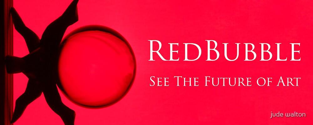 redbubble logo by jude walton