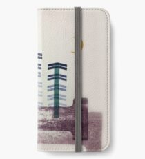 Letterpress Trees and Moon iPhone Wallet/Case/Skin