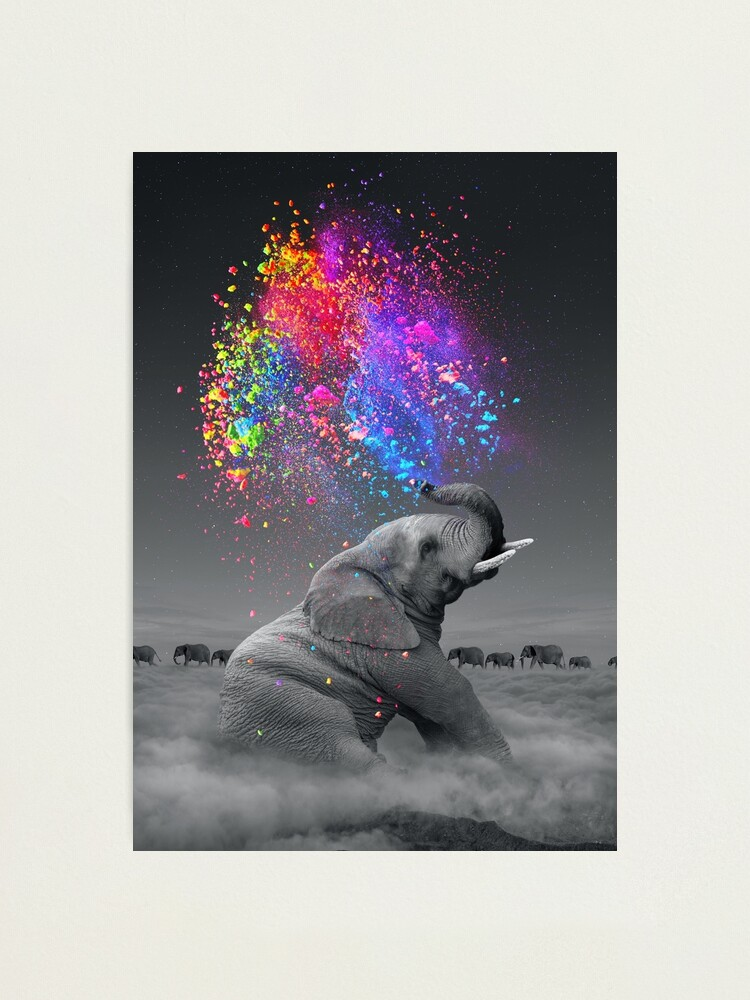 Alternate view of True Colors Within Photographic Print