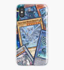 Yu-Gi-Oh! Blue-Eye White Dragon iPhone Case/Skin