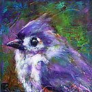 Reasons to Be Cheerful: Tufted Titmice by Rosemary Conroy