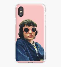 finn wolfhard diva glasses sticker iPhone Case/Skin