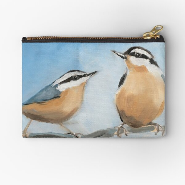 Two Nuts Zipper Pouch