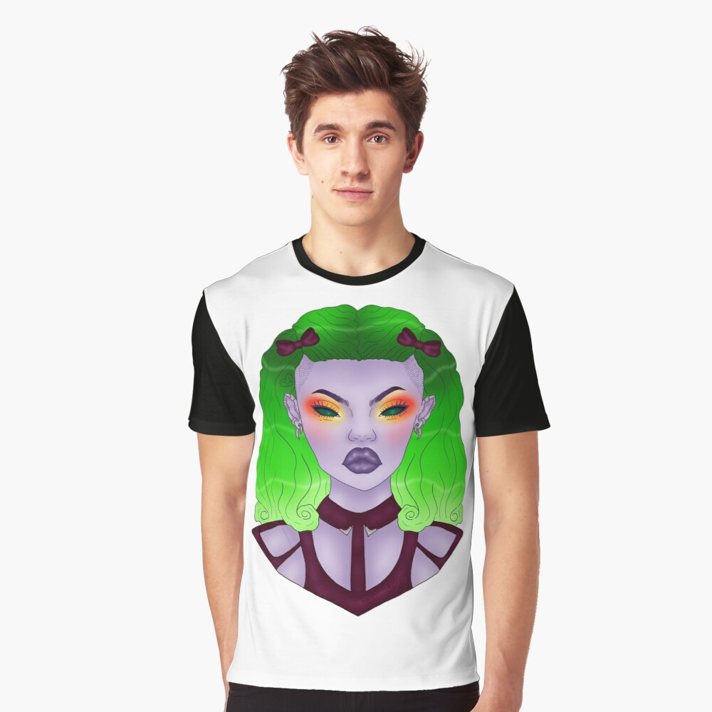 Gracie Graphic T-Shirt Front