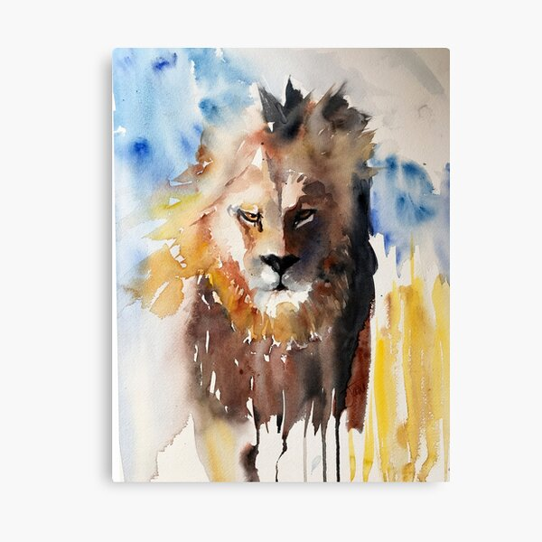 The Lion is Back! Canvas Print