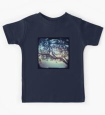 Sunset trees ttv photograph Kids Clothes