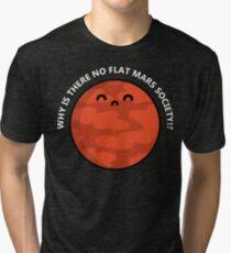 Flat Mars T-Shirt Tri-blend T-Shirt